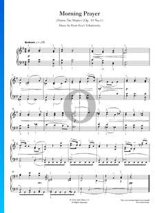 Prière du Matin, Op. 39 No.1
