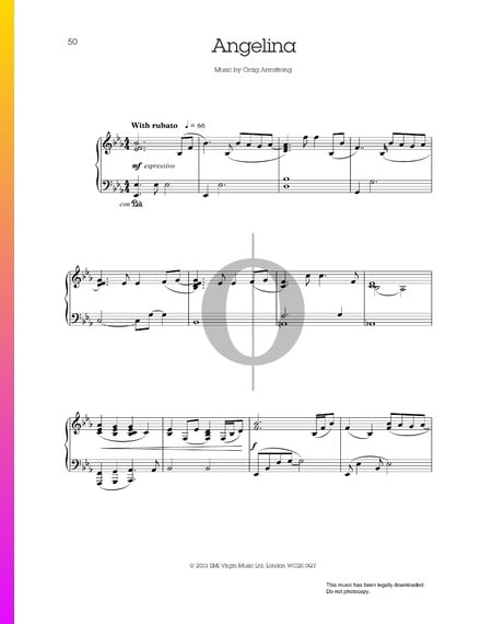Angelina Musik-Noten