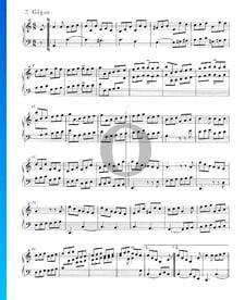 Suite inglesa n.º 2 en la menor, BWV 807: 7. Giga