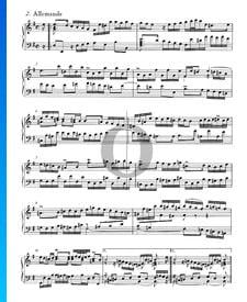 English Suite No. 5 E Minor, BWV 810: 2. Allemande