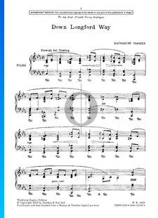 Four Musical Sketches for Piano: No. 2 Down Longford Way