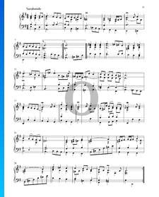 Partita en Mi mineur, BWV 1002: 5. Sarabande