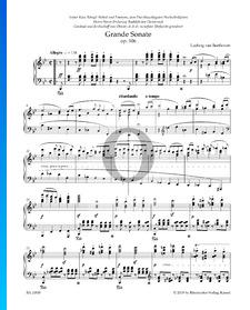 Sonate B-Dur, Op. 106 Nr. 29 (Hammerklavier): 1. Allegro