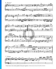 French Suite No. 5 G Major, BWV 816: 6. Loure