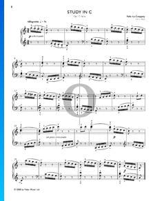 Etüde in C-Dur, Op. 17 Nr. 6