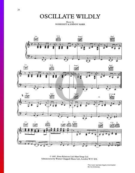 Oscillate Wildly Musik-Noten
