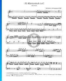 Pieza para piano en do mayor, KV 9a (5a)
