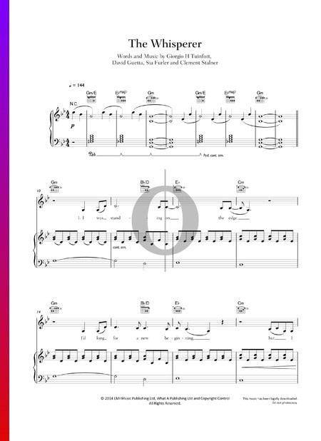 The Whisperer Musik-Noten
