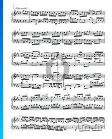 Partita 2, BWV 826: 2. Allemande