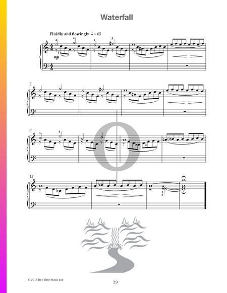 Waterfall Sheet Music