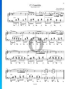 Cantabile - Klavierstück in B-Dur, B. 84