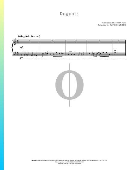 Dogbass Musik-Noten