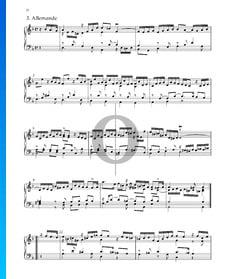 Suite No. 3 en Ré mineur, HWV 428: 3. Allemande