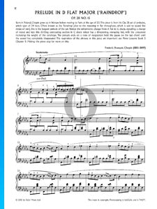 Regentropfen-Prélude, Op. 28. Nr. 15