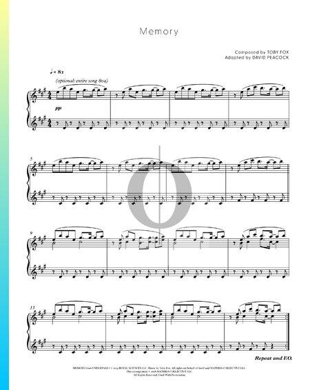 Memory Musik-Noten