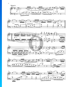 Grande Sonate in B-Dur, Op. 22 Nr. 11: 3. Minuetto