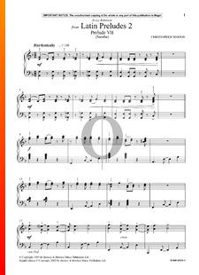 Latin Preludes 2: Prelude 7 (Samba)