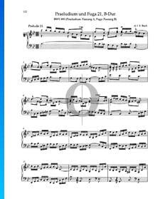 Preludio en si bemol mayor, BWV 890