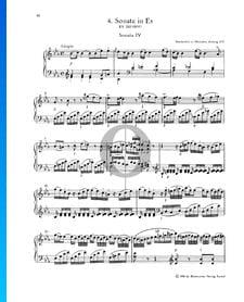 Sonate pour Piano No. 4 Mi bémol Majeur, KV 282 (189g): 1. Adagio