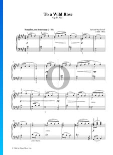 To A Wild Rose, Op. 51 n.º 1