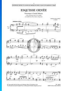 Equisse Ornee (Hommage À Claude Debussy)