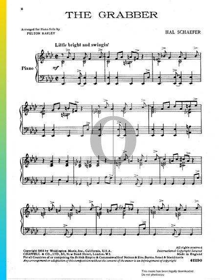 The Grabber Musik-Noten