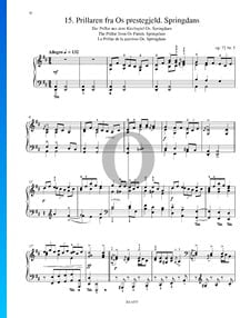 Prillaren Fra Os Prestegjeld (Der Prillar aus dem Kirchspiel), Op. 72 Nr. 5
