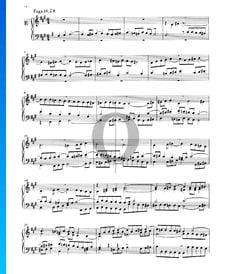 Fugue 14 Fa dièse mineur, BWV 859