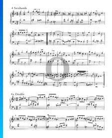 Suite inglesa n.º 6 en re menor, BWV 811: 4. Sarabanda