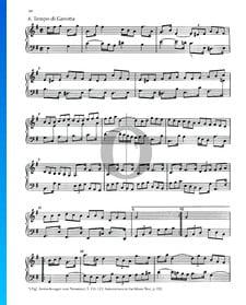 Partita 6, BWV 830: 6. Tempo di Gavotta
