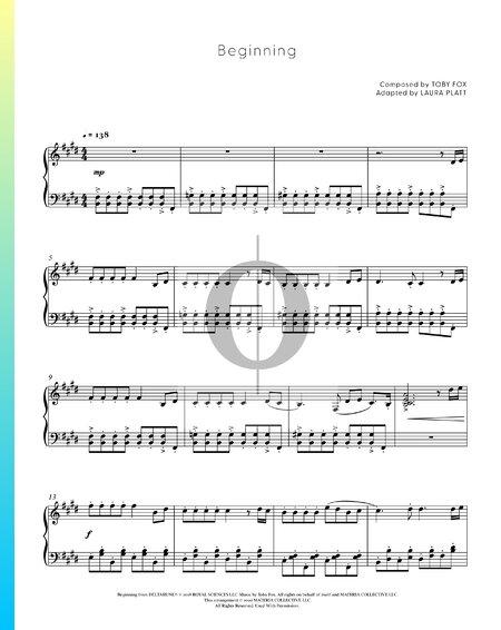 Beginning Musik-Noten
