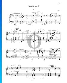 Sonata n.º 3 en fa sostenido mayor, Op. 23: 1. Drammatico
