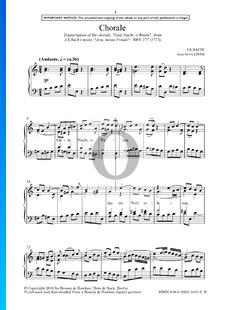 Jesu, Meine Freude, BWV 227: Gute Nacht, O Wesen