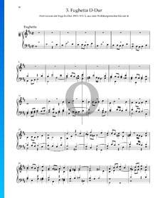 Fughetta D-Dur, BWV 876/2