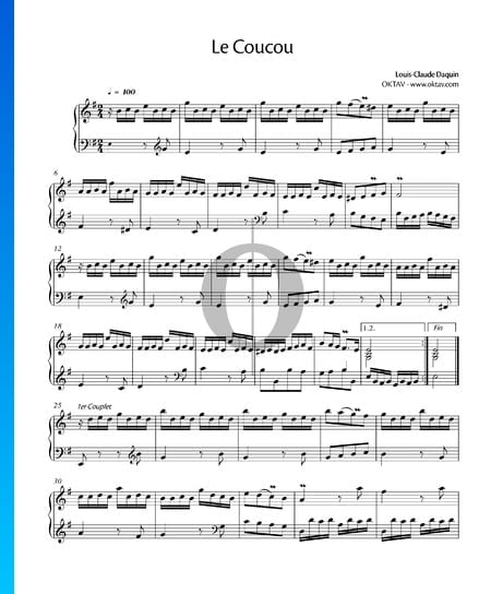 Le Coucou Sheet Music
