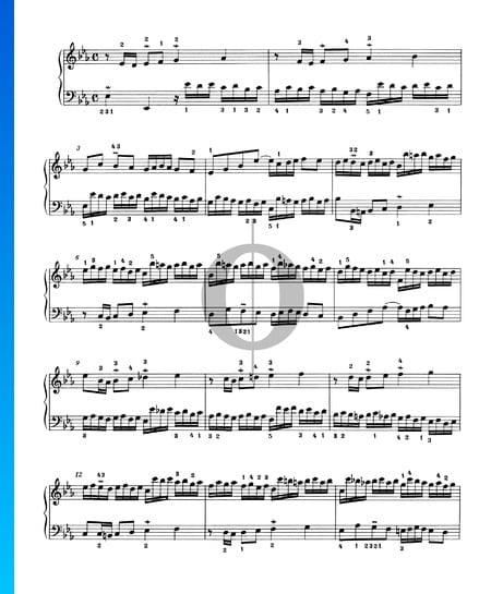 Invention 5, BWV 776 Sheet Music