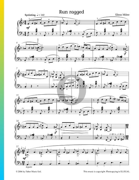 Run Ragged Musik-Noten