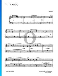 Tango in D, Op. 165 No. 2