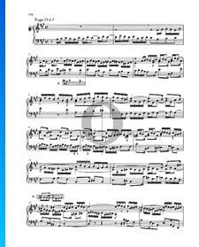 Fugue A Major, BWV 888