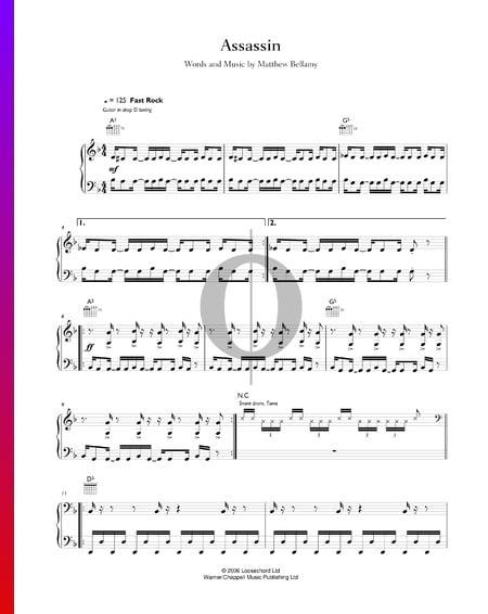 Assassin Sheet Music