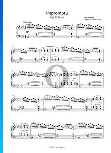 Impromptu A-flat Major, Op. 90 No. 4, D 899