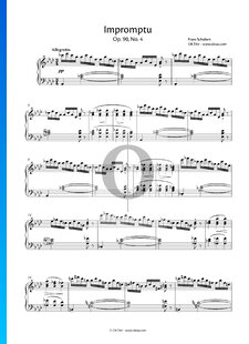 Impromptu As-Dur, Op. 90 Nr. 4, D 899