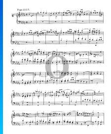 Fuge 22 b-Moll, BWV 867