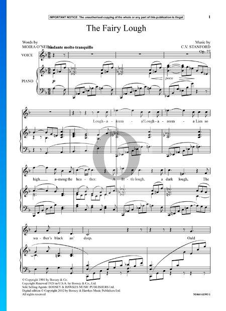 The Fairy Lough, Op. 77 No. 2 Sheet Music