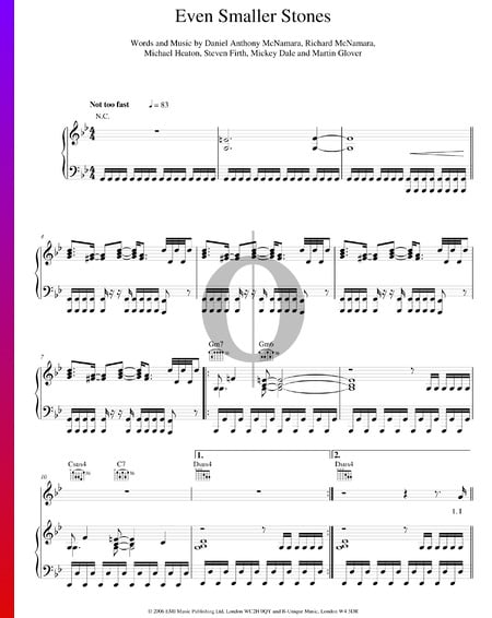 Even Smaller Stones Sheet Music