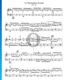 Preludio en re menor, BWV 926