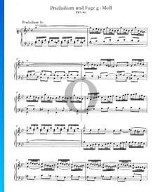 Preludio 16 en sol menor, BWV 861