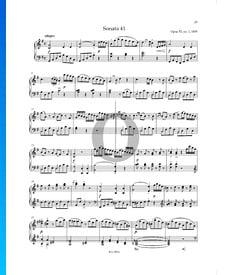 Sonata en sol mayor n.º1, Op. 53 P. XII: 41: 1. Allegro
