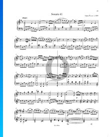 Sonate G-Dur Nr.1, Op. 53 P. XII: 41: 1. Allegro