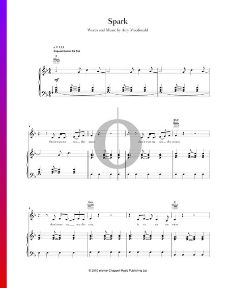 Spark Musik-Noten